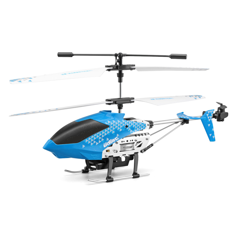 【儿童玩具】智能遥控无线飞机玩具耐摔和合金加固YD-D25蓝