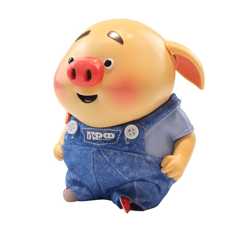 【儿童玩具】萌萌猪男女孩玩具早教机SF-51805