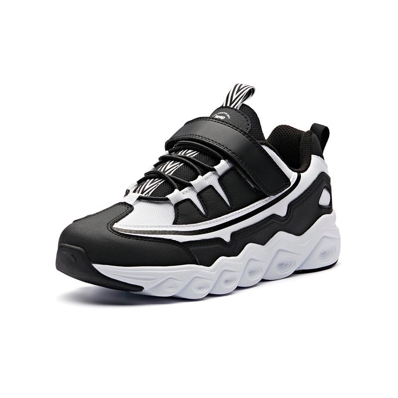 安踏男 男童跑鞋2018新款学生跑步鞋时尚休闲运动鞋 31845535-3