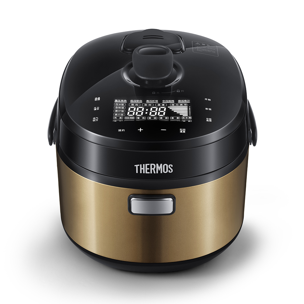 膳魔师(THERMOS) IH 电压力饭煲  EHA-4153E 大容量轻奢电饭锅煮饭煲汤