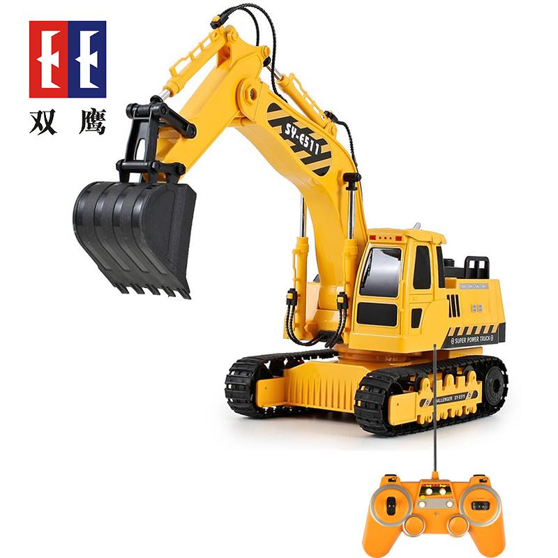 【儿童玩具】玩具挖掘车适合3岁以上儿童环保安全耐磨SY-E511-001橘黄