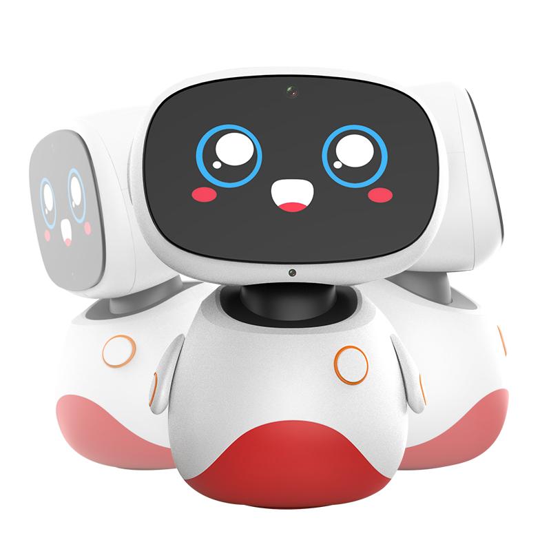 小漫在家智能机器人儿童早教学习机教育智能对话高科技玩具家居管家型ai未来人工家用全自动小学初中高中