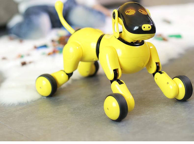 可旺智能机器狗AI语音声控唱歌跳舞早教陪伴玩具仿真狗礼物