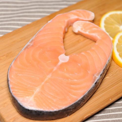 【中粮】智利轮切三文鱼排2-3块 500g 袋装