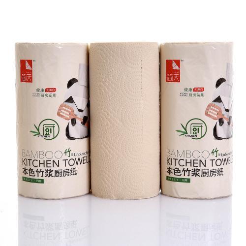【中粮出品】简沃本色厨房用纸吸油纸卷筒厨房纸巾110节
