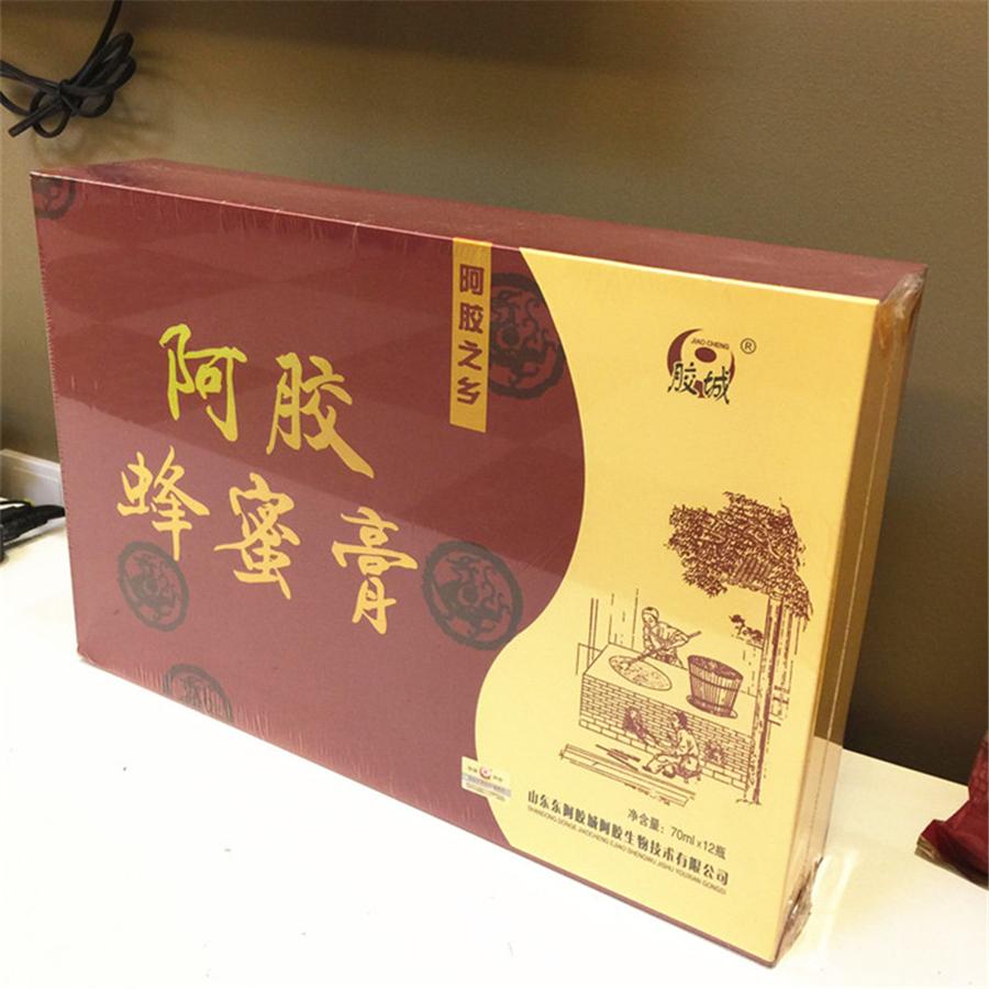 胶城 阿胶蜂蜜膏  70ml*12瓶/盒