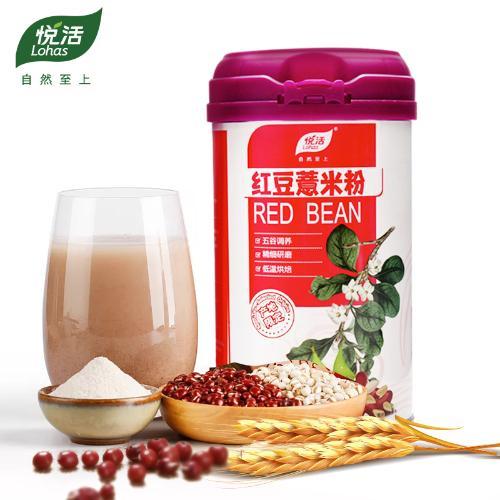 【内含小勺】中粮悦活 红豆薏米粉 远离湿胖 600g
