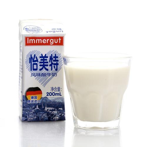 【中粮】Immergut怡美特风味酸牛奶200ml(新老包装随机发)