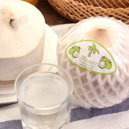 【中粮】[安萃] 泰国椰青9粒箱装 单粒重800g以上 赠开椰器1个和吸管 Y