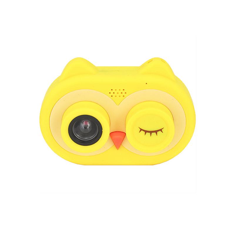 宝宝拍儿童mini相机wifi连接猫头鹰照相机高清800万【4】