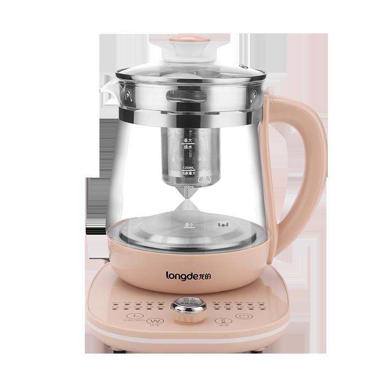 龙的(longde)1.8L养生壶 电水壶烧水壶电热水壶煮茶壶花茶壶电茶壶煮水壶煮茶器 LD-YS1889