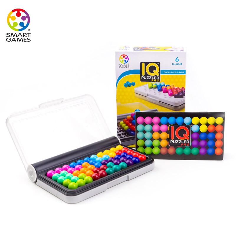 Smart Games IQ智慧大作战比利时STEM儿童益智玩具男孩女孩小孩6-10岁