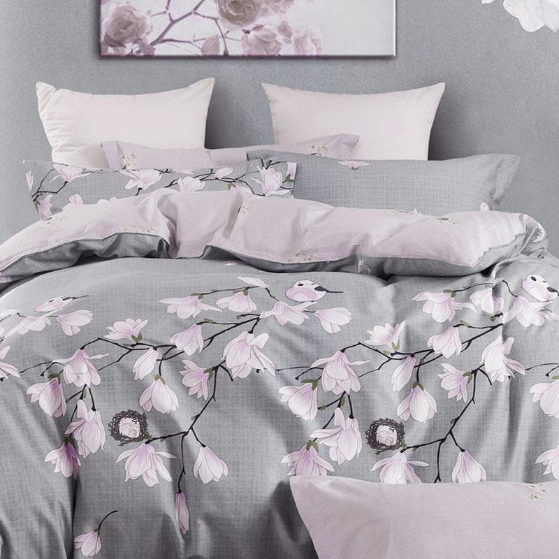 多样屋TAYOHYA翠韵春晓四件套床上用品四件套全棉纯棉简约欧式1.5m床单双人被套