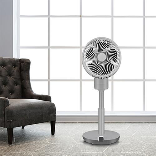 家奈/GENE by HIROSE落地式空气循环扇家用静音遥控电风扇办公室大风力CFS-19C2