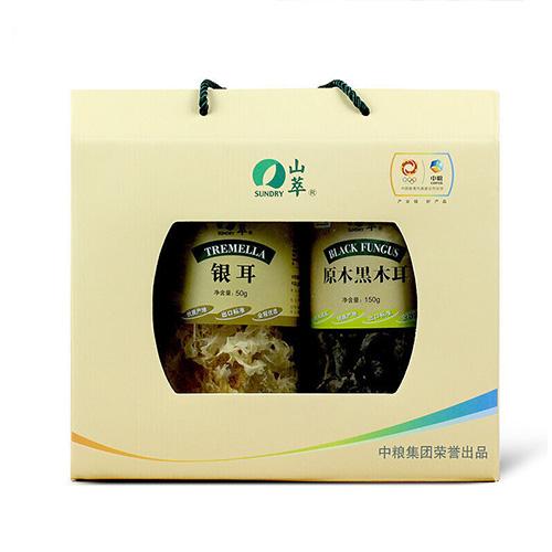 山萃食用菌礼盒(2罐装)