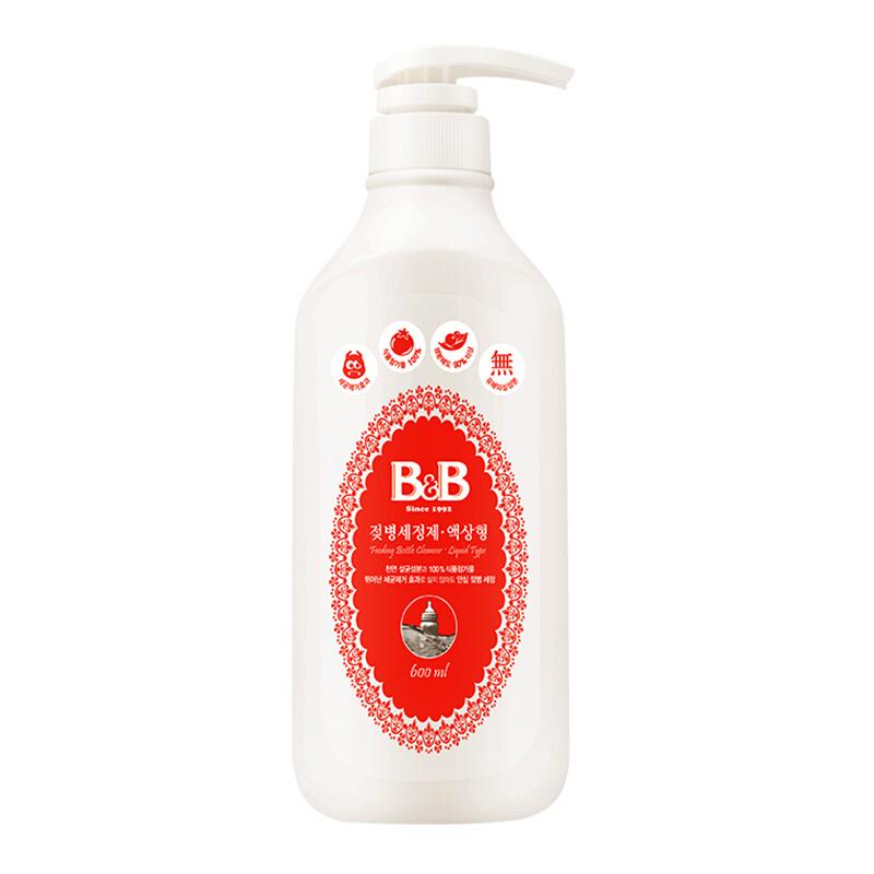 保宁韩国进口婴儿奶瓶清洁剂果蔬清洗剂液体型瓶装600ml