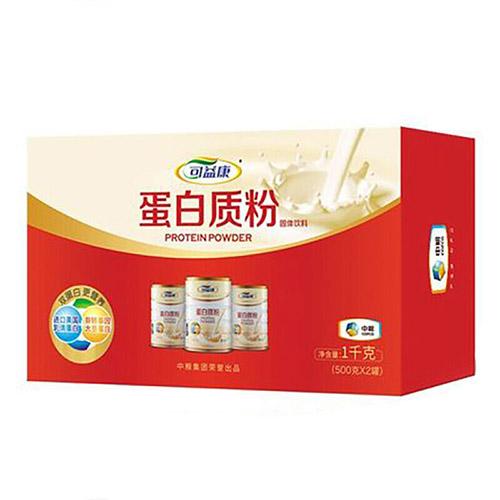 中粮可益康蛋白粉500g*2礼盒
