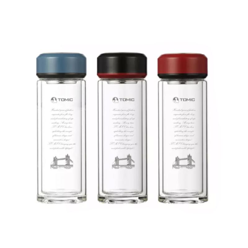 TOMIC/特美刻双层水晶玻璃杯 9511 350ML