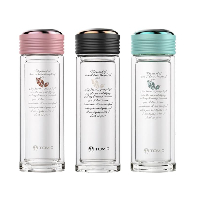 TOMIC/特美刻双层水晶玻璃杯 9510 350ML
