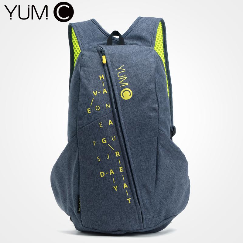 美国YUMC 双肩包女2018新款双肩包男双肩时尚潮流