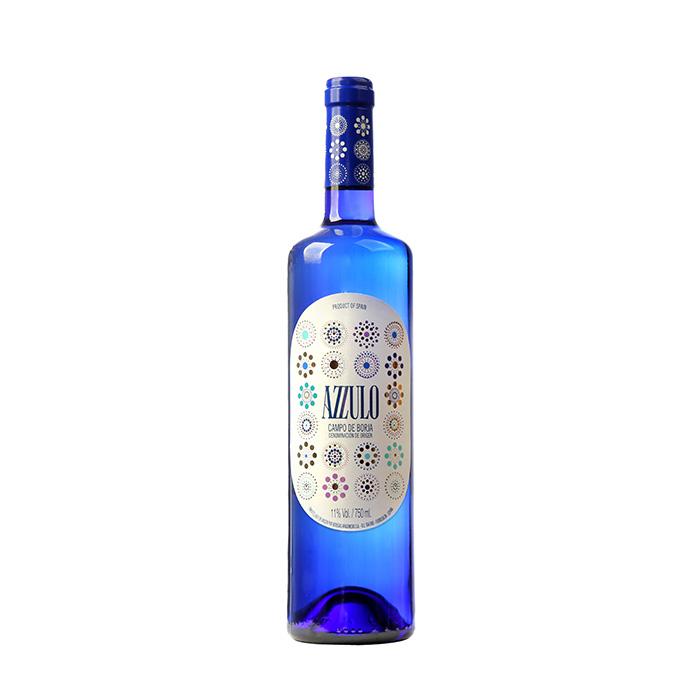 西班牙原装原瓶进口爱之蓝微起泡白葡萄酒750ml