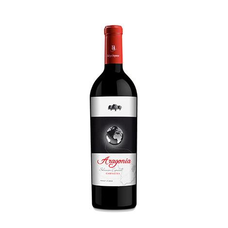 西班牙原装原瓶进口阿拉贡尼亚干红葡萄酒750ml