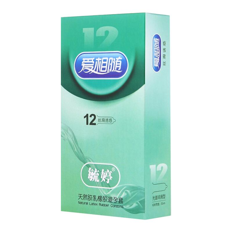 毓婷爱相随避孕套(丝滑诱惑型)12只装