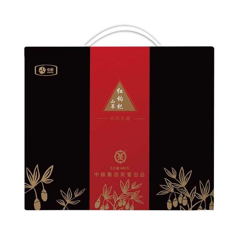 山萃柴达木红枸杞礼盒480g