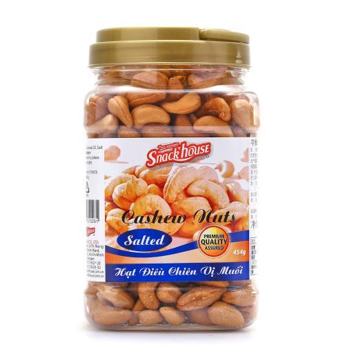 【中粮海外直采】Snack House零食屋盐焗腰果454g (越南进口  罐)