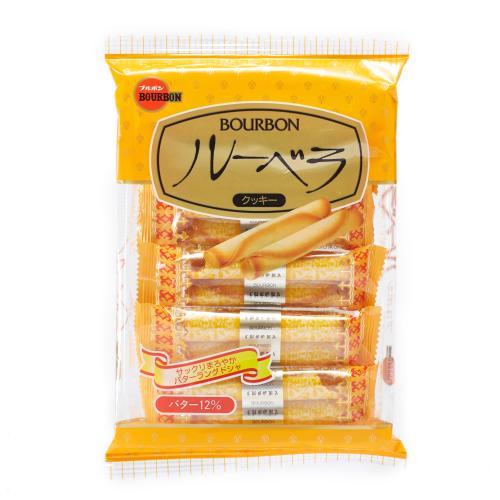 【中粮海外直采】Bourbon波路梦黄油味饼干52g(日本进口 盒)