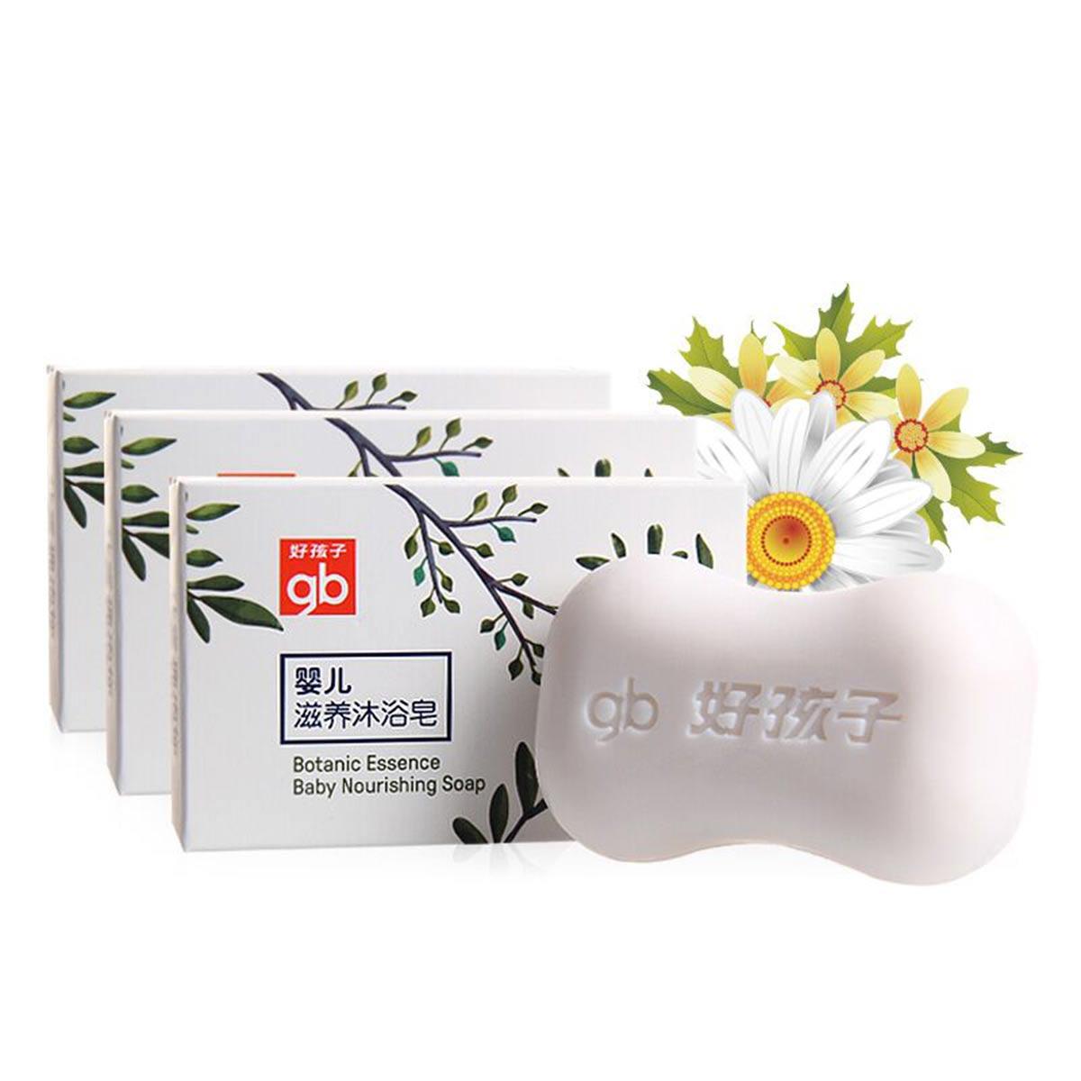GoodBaby好孩子  婴儿滋养沐浴皂105G(三连装)