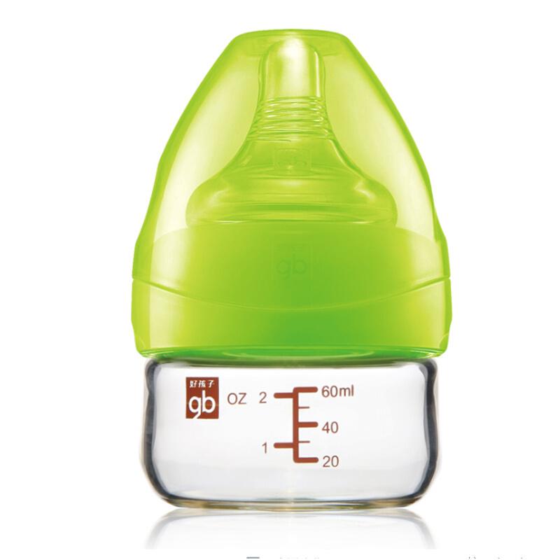 GoodBaby好孩子 初生婴儿母乳自然宽口径玻璃奶瓶 60ml