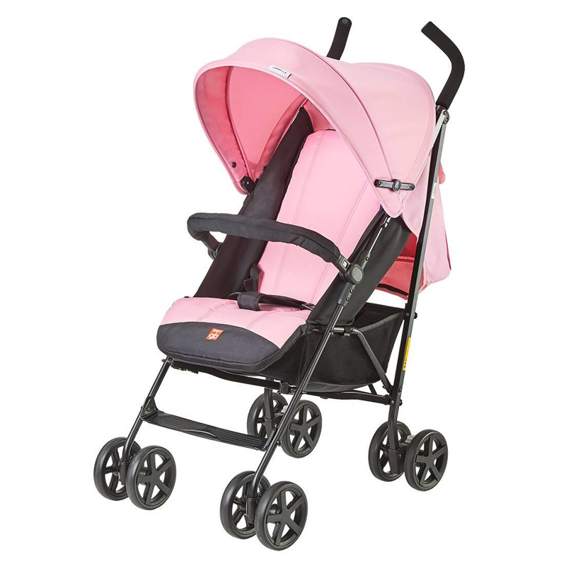 GoodBaby好孩子 轻便避震婴儿伞推车 可坐可躺婴幼儿手推车D420(0-3岁) 萌幻樱粉