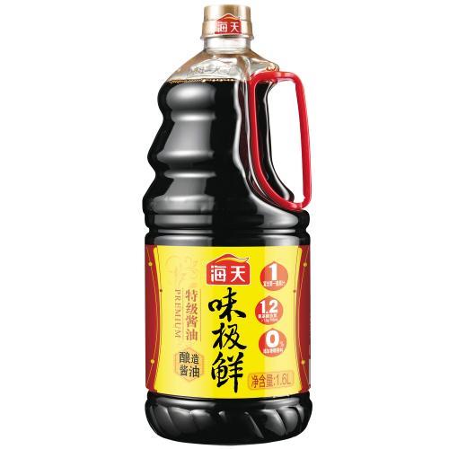 【中粮】海天味极鲜特级酱油1.6L