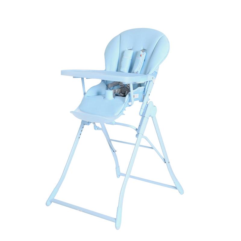 GoodBaby好孩子 儿童多功能可折叠餐椅 磨砂款 薄荷蓝Y290-D002B