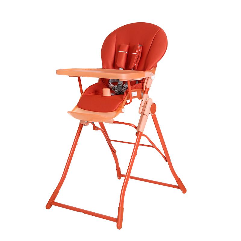 GoodBaby好孩子 儿童多功能可折叠餐椅 磨砂款 阳光橙Y290-D003R
