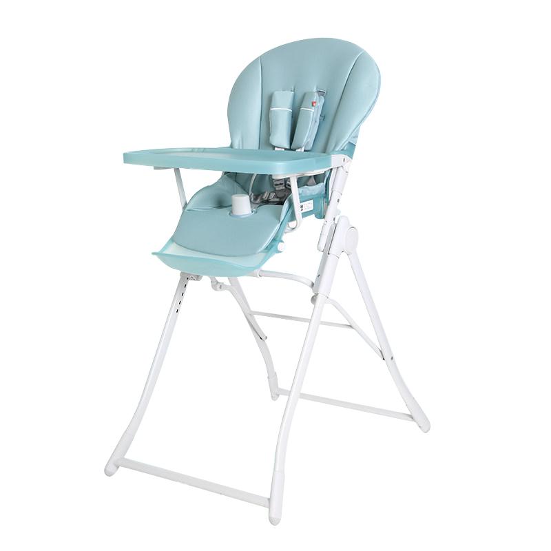 GoodBaby好孩子 儿童多功能可折叠餐椅 磨砂款 萌幻蓝绿Y290-D001G