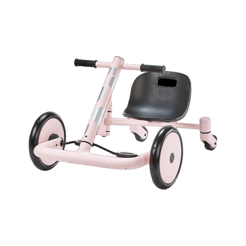 GoodBaby好孩子 儿童漂移车 宝宝玩具滑行三轮学步平衡自行车 粉色PY001-G005P