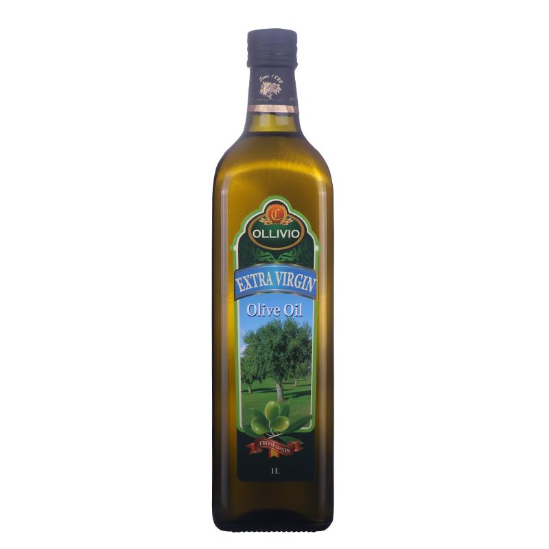 西班牙原装进口欧峰胜特特级初榨橄榄油1L 食用油礼品 包邮