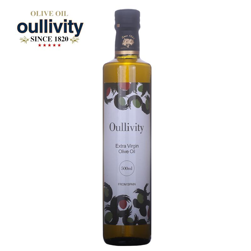 西班牙原装进口 欧峰胜特 特级初 榨橄榄油500mLx1 食用油礼品 包邮