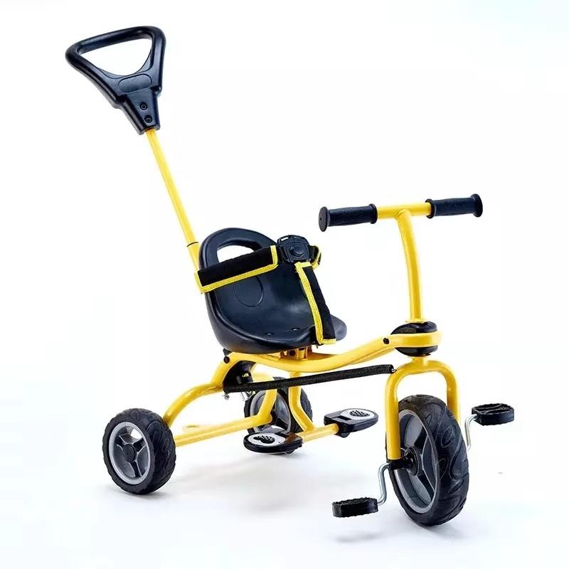 HapeE8374酷玩三轮车 儿童益智玩具宝宝学步车滑行车童车脚踏车 E8374 推杆三轮车