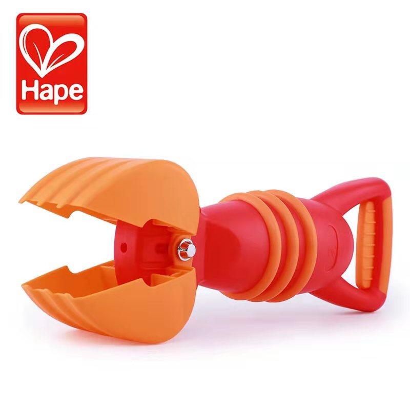 HapeE4061灵巧抓沙斗沙滩玩具儿童挖沙玩沙戏水玩具 1岁+ E4061 儿童幼儿园游乐场男孩女孩 灵巧抓沙斗,红色