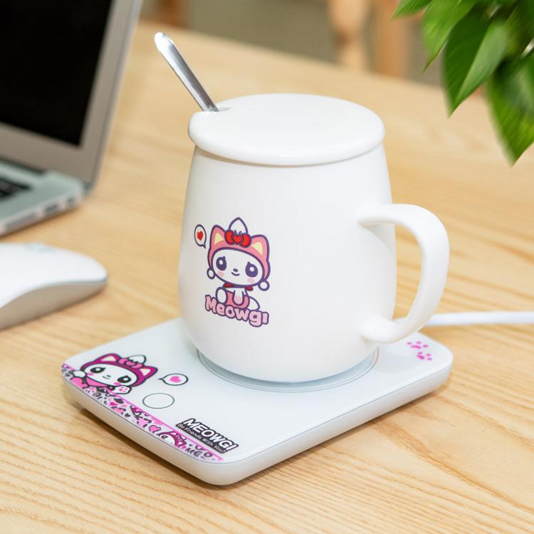 贝丽  55℃度暖暖杯家用加热杯垫水杯保温底座恒温暖心杯热牛奶器  W1-A13B