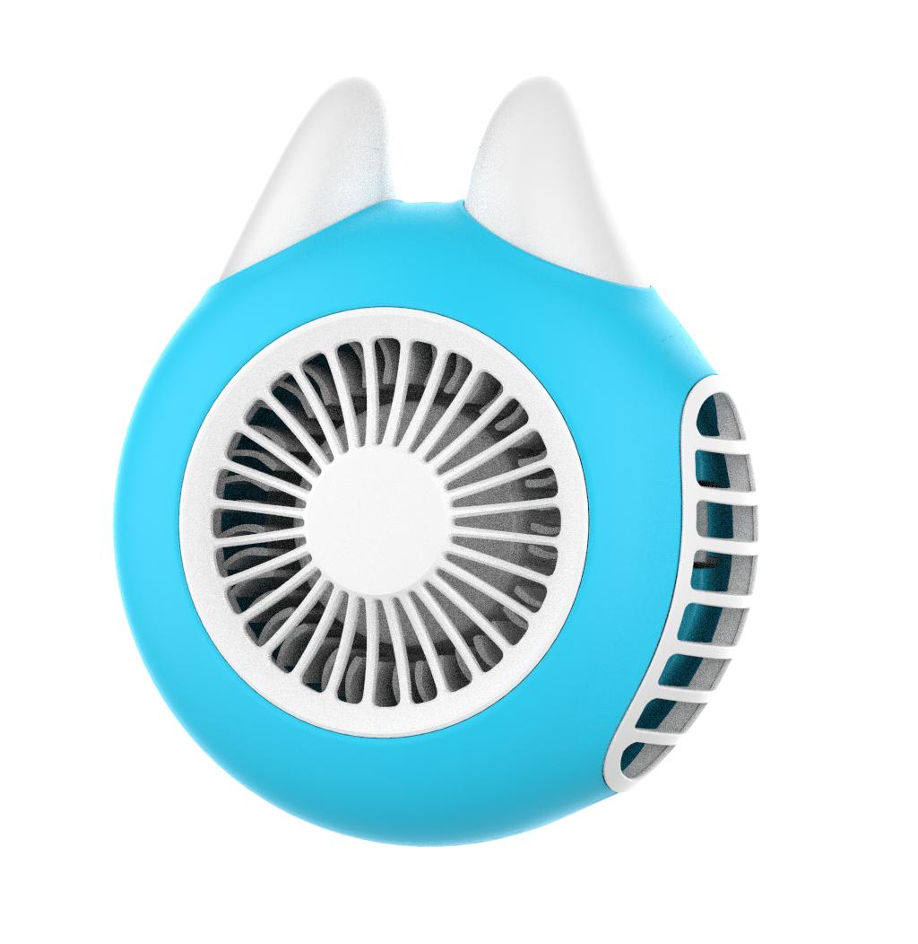 三板斧  手表腕usb小风扇小型便携式可充电手持拿迷你电风扇SBF001