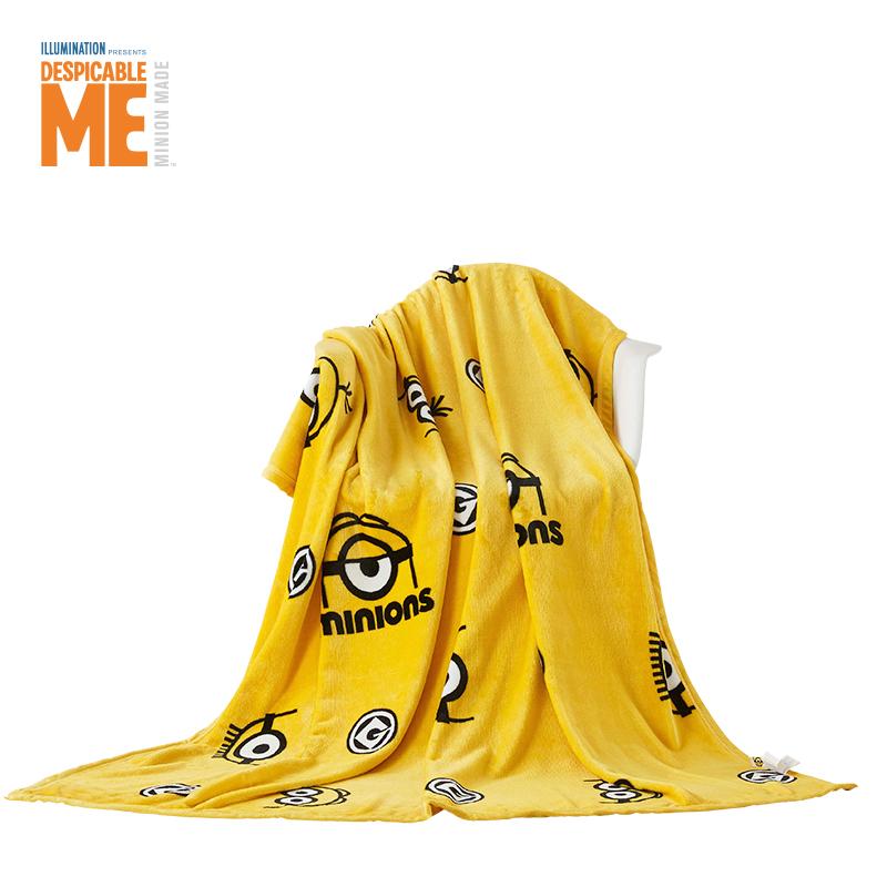 神偷奶爸小黄人法兰绒毯ME-FMT503