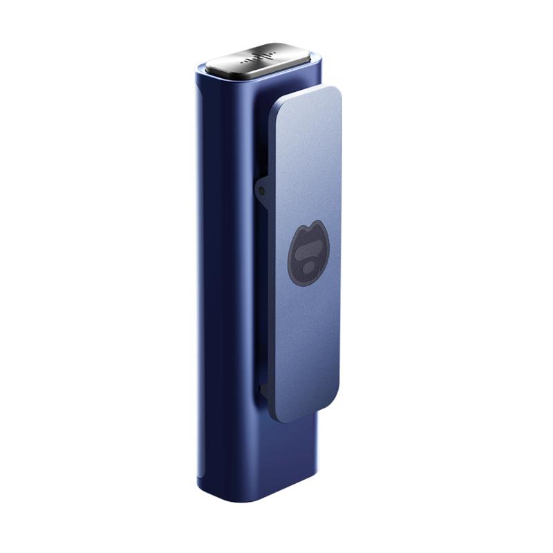 搜狗 Sogou 智能录音笔C1 高清录音 语音转文字 16G+云存储 2019年免费转写 录音速记 微型便携 蓝色
