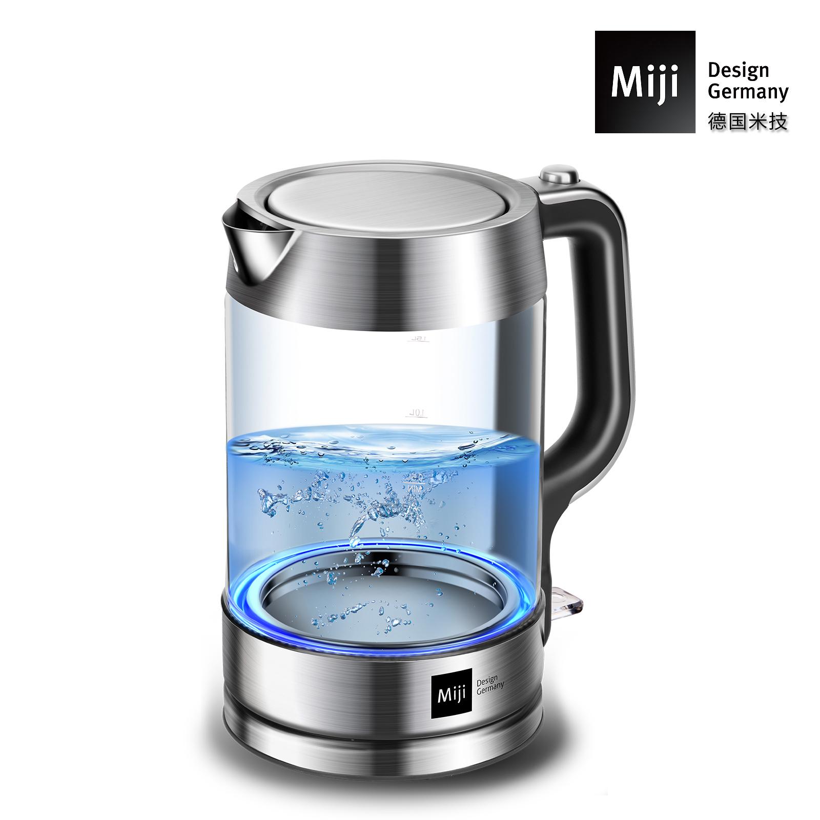 MIJI米技电热水壶家用304不锈钢 HK-3301