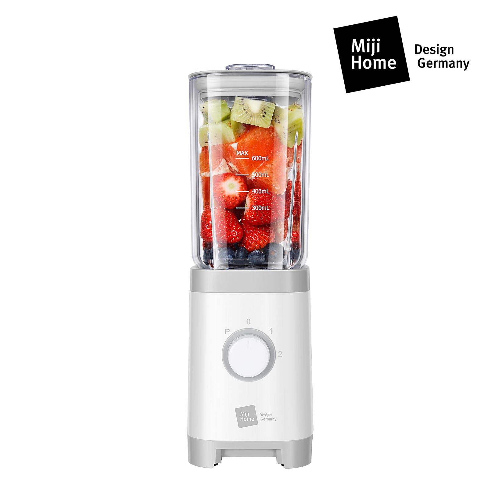 NIJI米技榨汁机便携 随身杯多功能炸果汁辅食料理机搅拌机果汁杯 德国精工 MB-2301