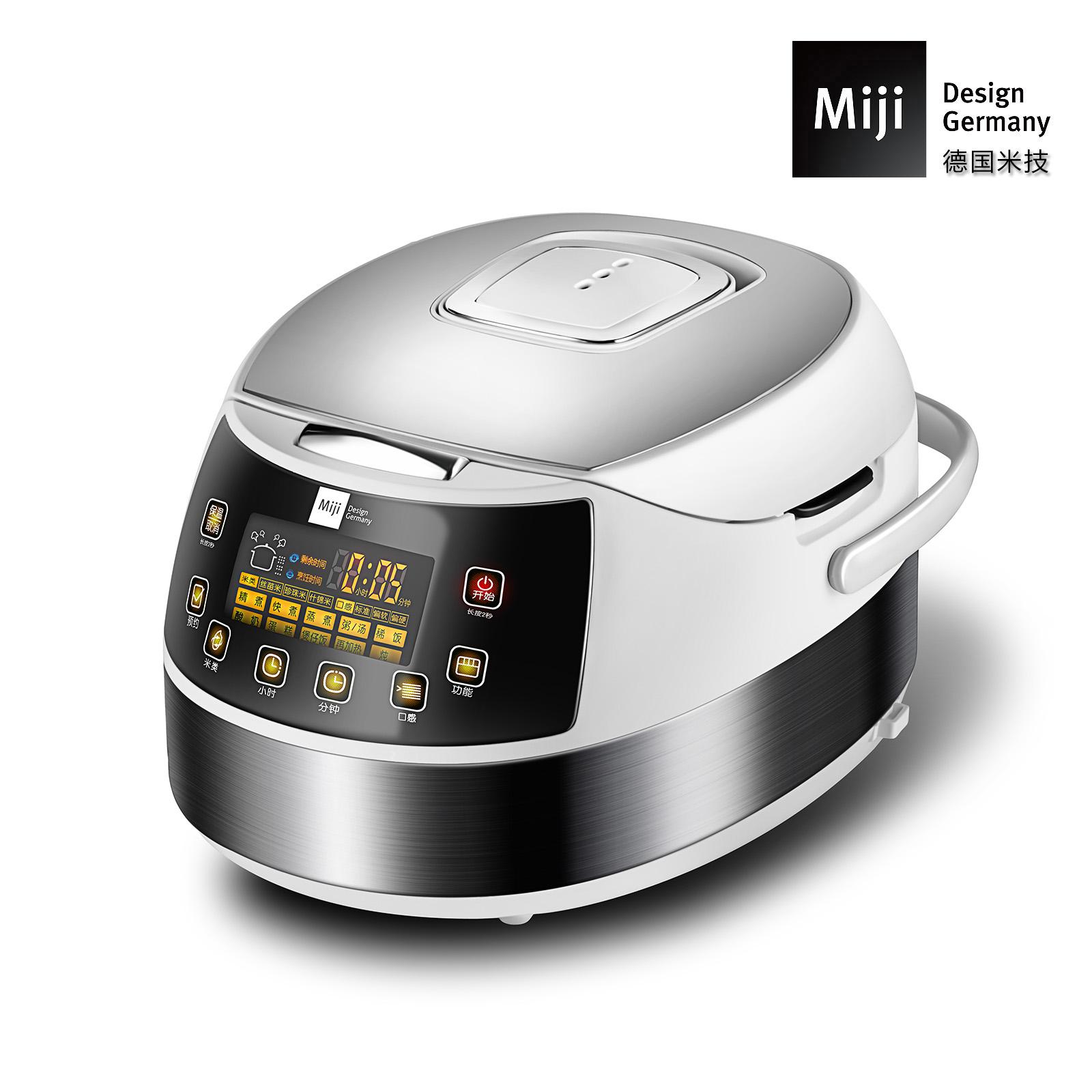 MIJI米技电饭煲电饭锅 大容量不粘内胆多功能智能预约微电脑触控EC40F