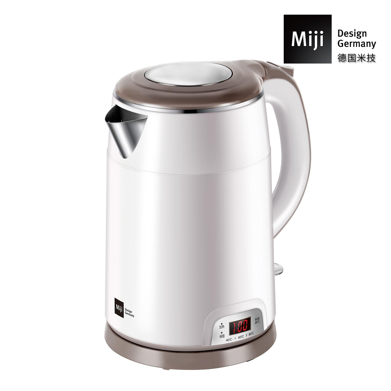 MIJI米技不锈钢电热水壶(保温型)HK-4252